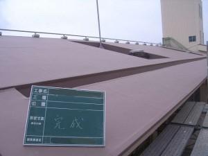 塩ビシート防水(完成)01